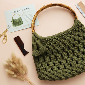 DIY KIT: The Marianne Macrame Bag