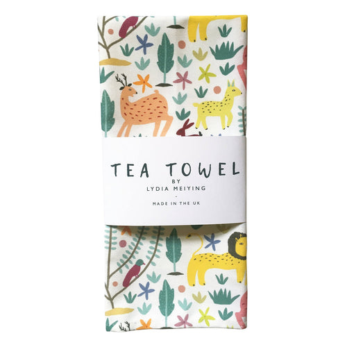 The Lion and the Hare Tea Towel
