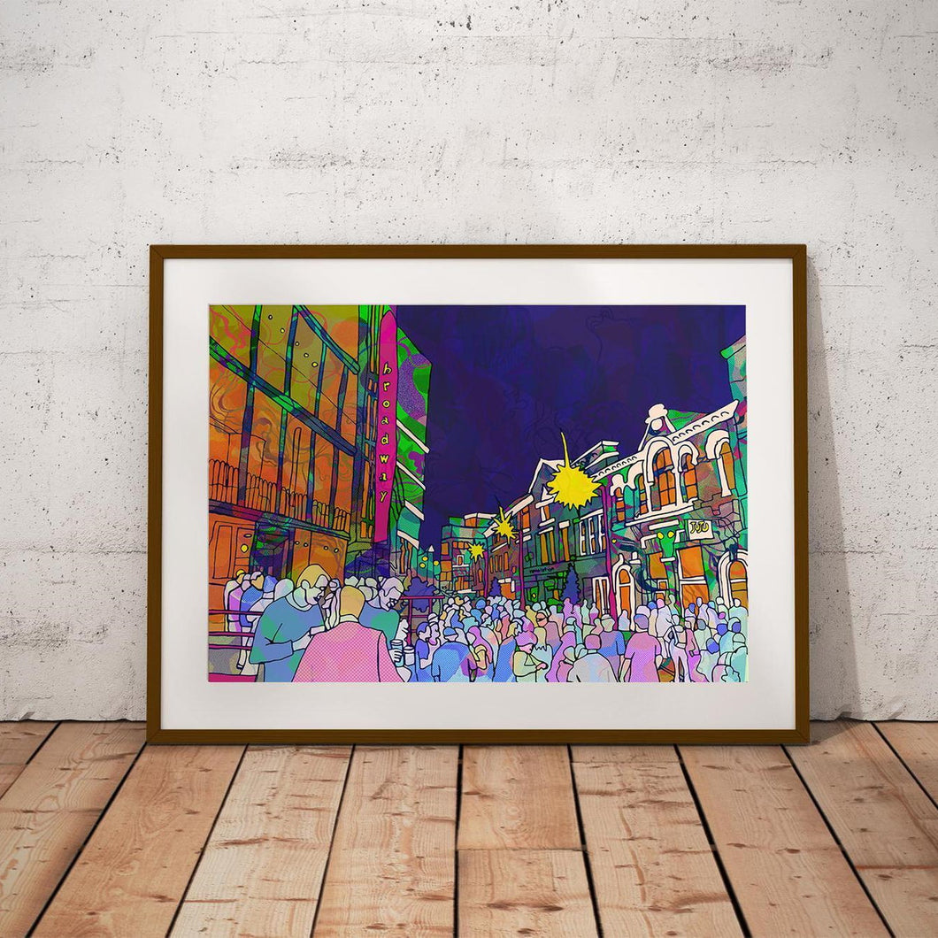 Broadfest (Hockley) A4 Print