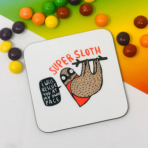 Super Sloth Coaster