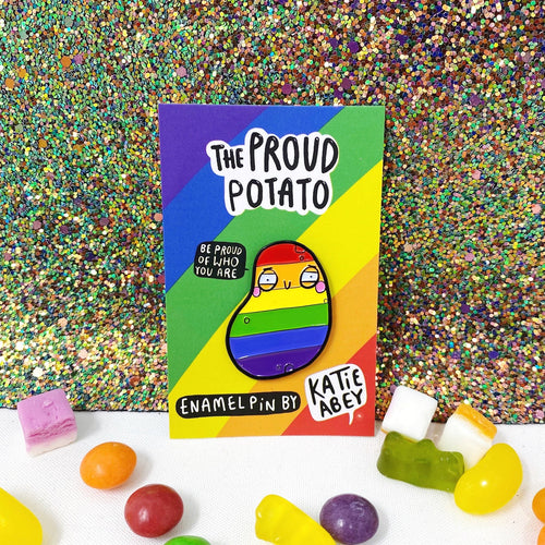 Proud Potato Pin