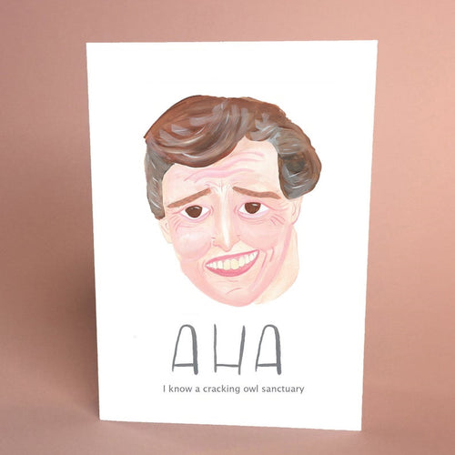Aha Alan Partridge inspired card