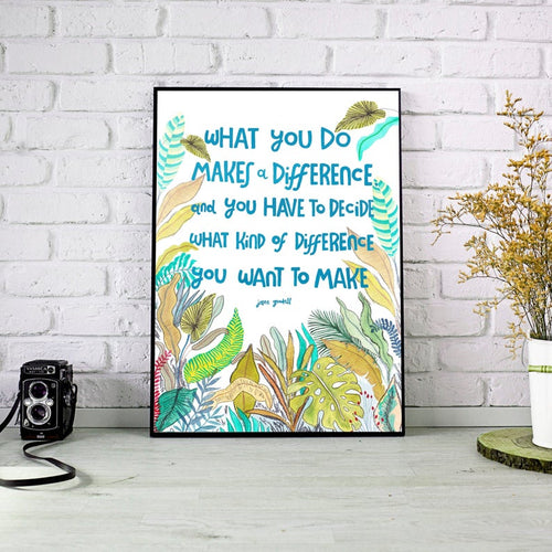 Make a difference quote