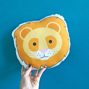 Lion Plush Scatter Cushion