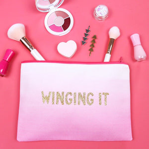 Makeup Bag - Winging It