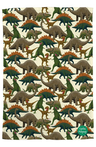 Dinosaur Tea Towel