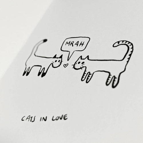 Cats That I Drew - Zine