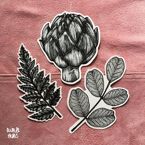 Botanical Plant Vinyl Sticker Pack