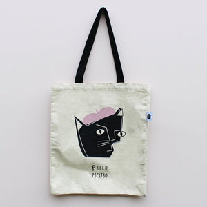 Pablo Picatso Cat Tote Bag