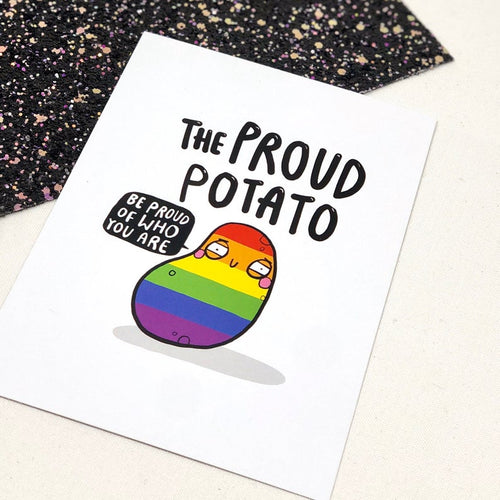 The Proud Potato A6 Postcard