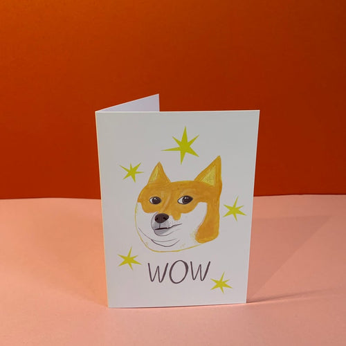 WOW, Doge pup Card