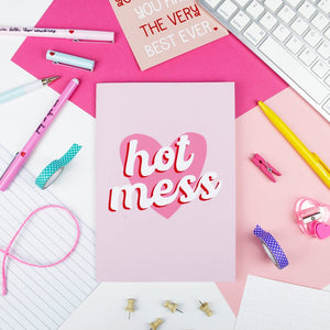 A5 Lined Notebook - Hot Mess