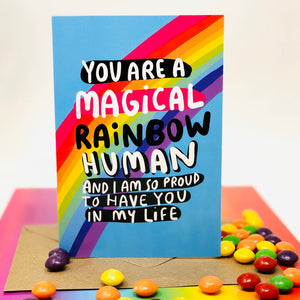 Magical Human Being Card
