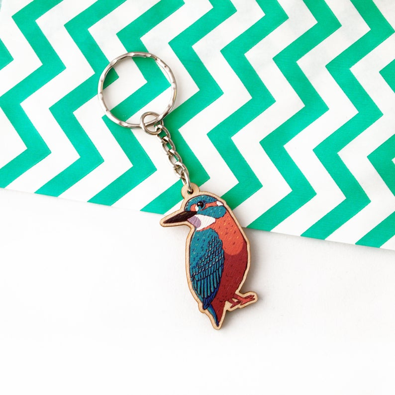 Kingfisher Keyring