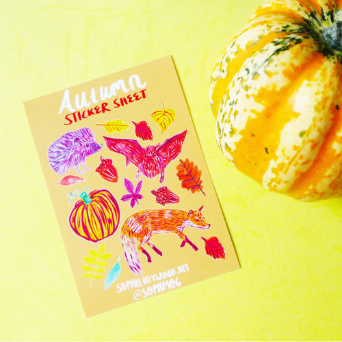 Autumn Sticker Sheet