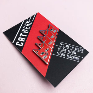 Catwerk Cat Enamel Pin