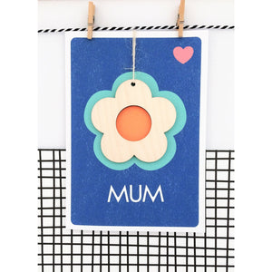 Mum Keepsake Card