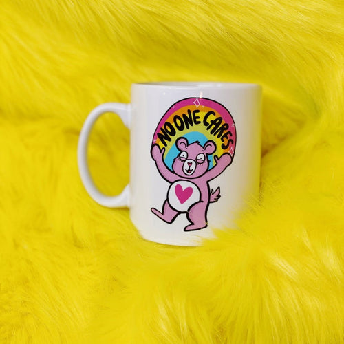 No One Cares Bear Mug