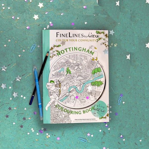 The Nottingham Colouring Book