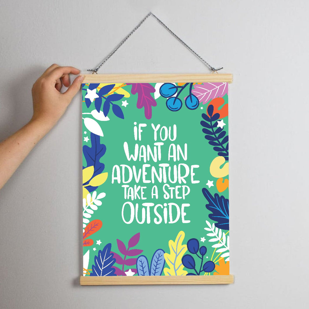 Step Outside Print