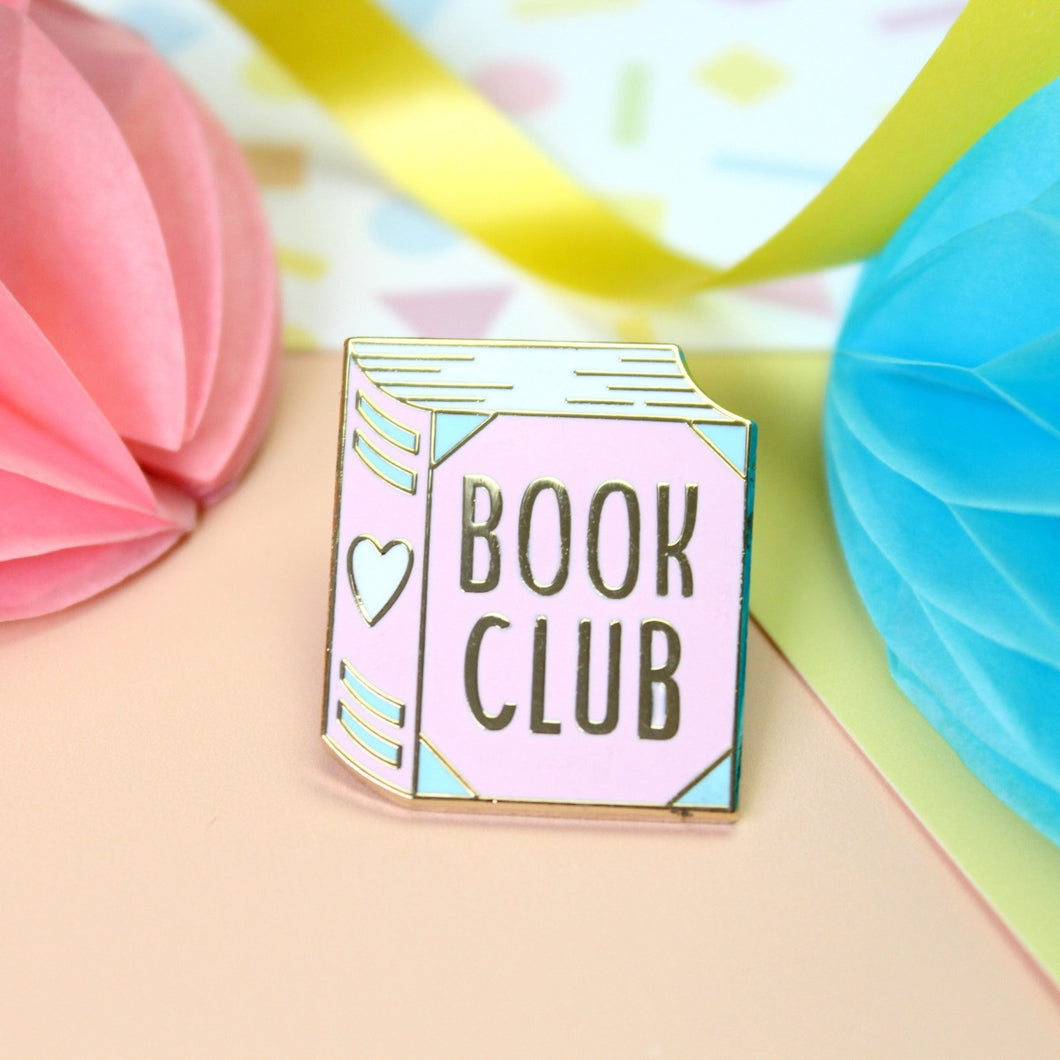 Book Club Enamel Pin