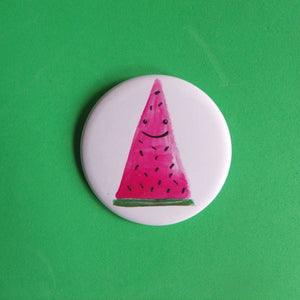 Watermelon Badge