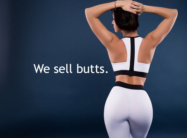 we sell butts buttress pillow