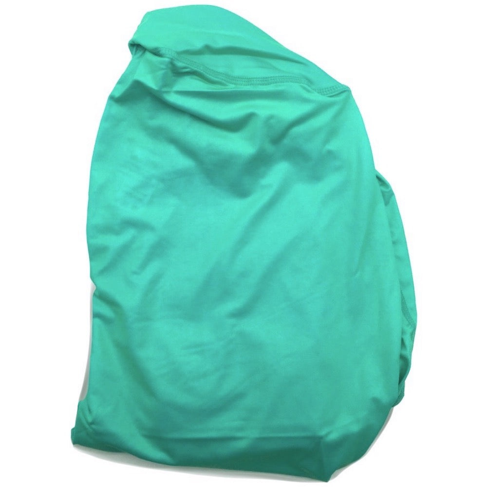 The ODB Size Buttress Pillow Yoga Pant Washable Cover in Aqua Blue Color