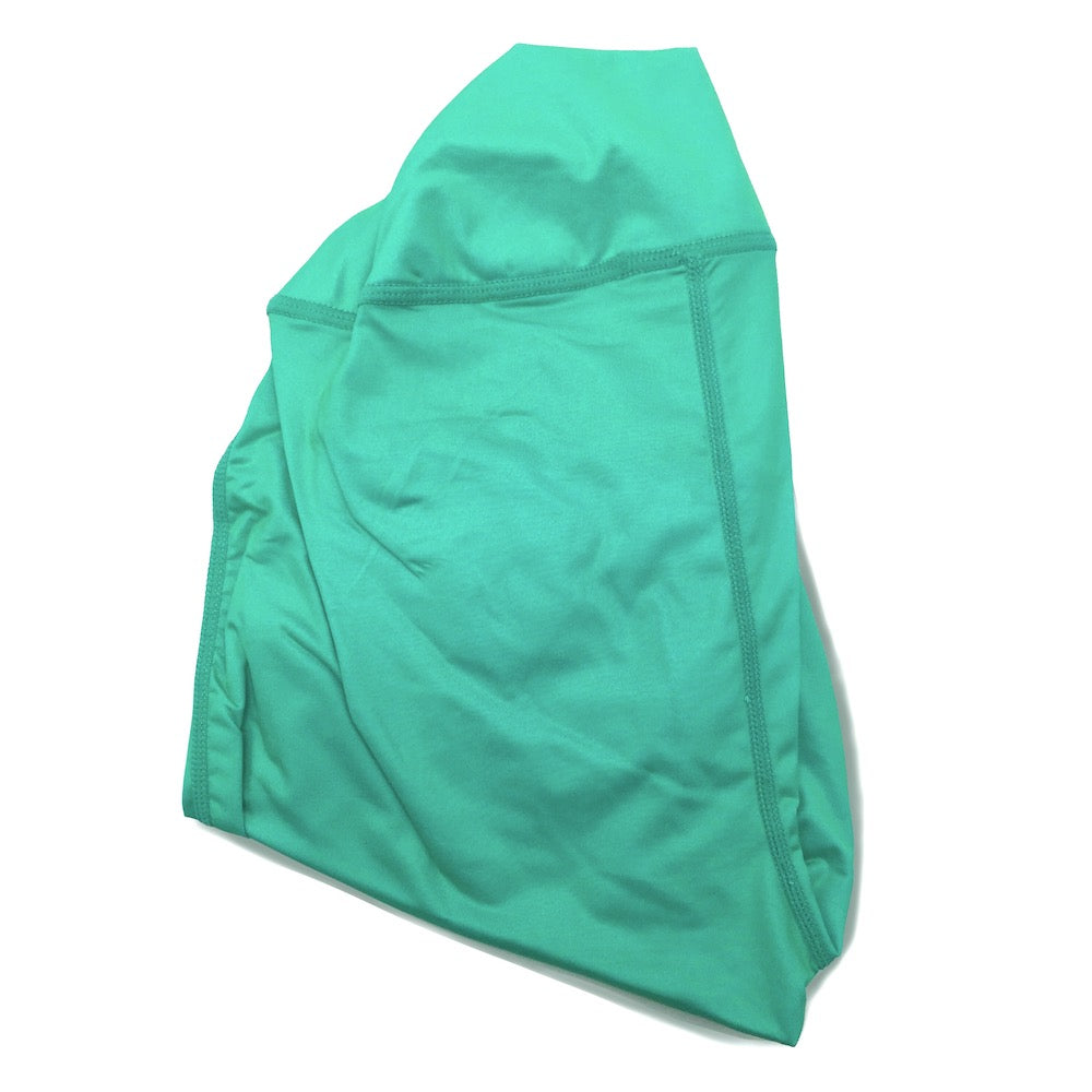 OMG Size Buttress Pillow Yoga Pant Cover in Aqua Blue Color for a happy booty