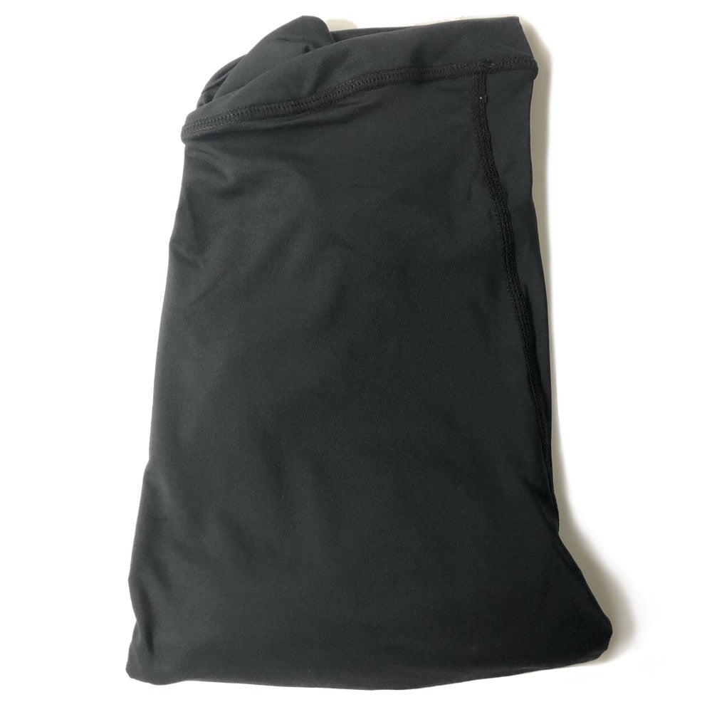 The ODB Size Buttress Pillow Yoga Pant Washable Cover in Black Color