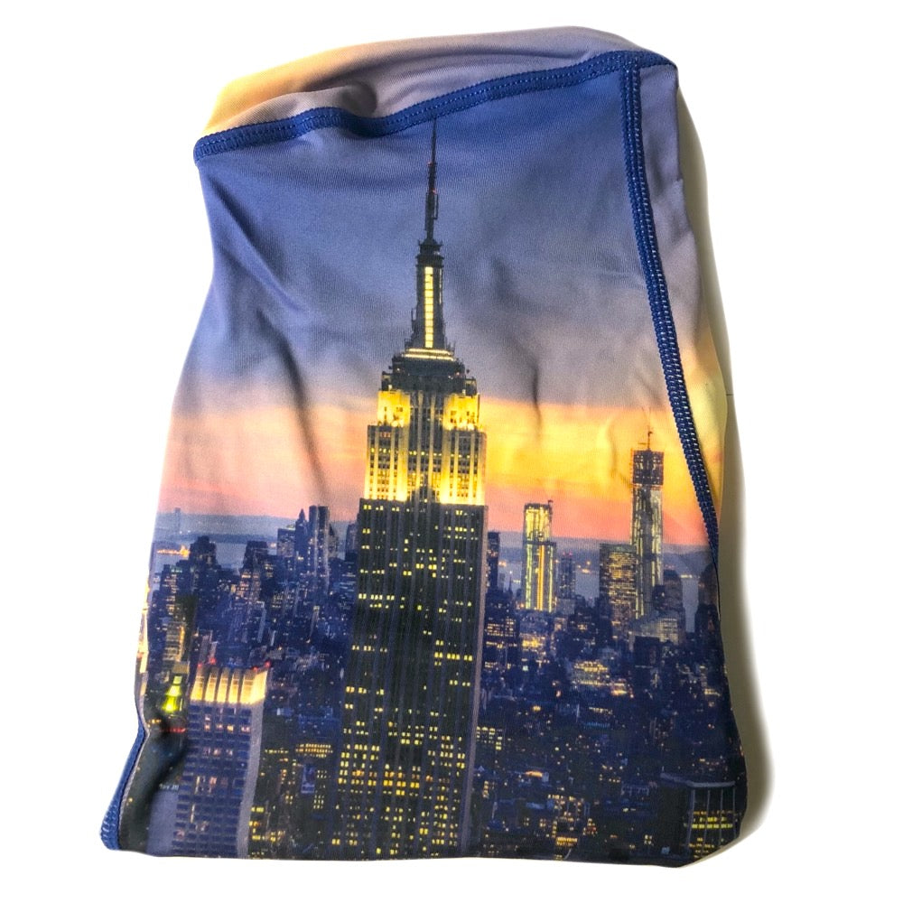 The ODB Size Buttress Pillow Yoga Pant Washable Cover in Metropolis City Color