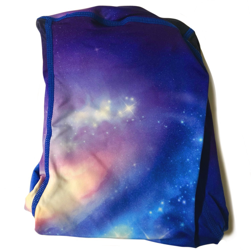 The ODB Size Buttress Pillow Yoga Pant Washable Cover in Galaxy Cosmic Color