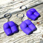The Buttress Pillow Mini Butt Keychain Happy Booty 3 pack