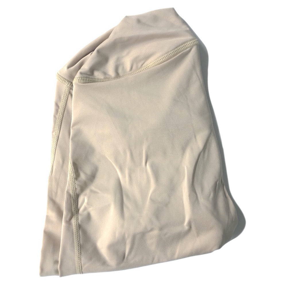 The ODB Size Buttress Pillow Yoga Pant Washable Cover in Nude Skin Tone Color