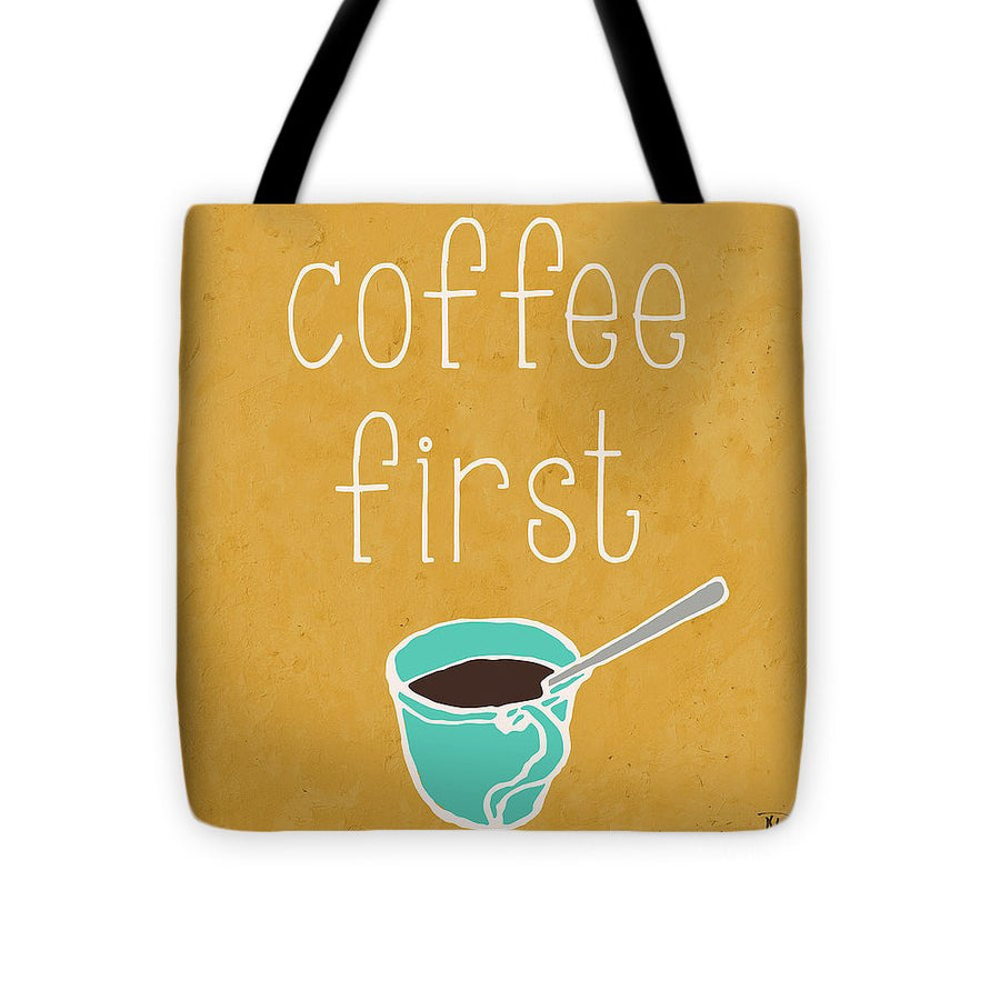 Coffee Or Wine I Tote Bag