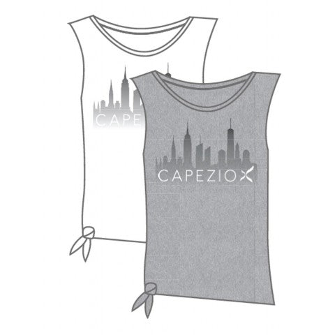 Ladies Capezio Side Tie Tank - 11259W