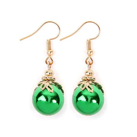 Ornament Dangle Fishook Earrings
