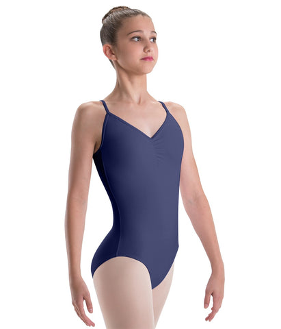 Pinch Front Camisole Leotard with Lattice Back - 2571 492