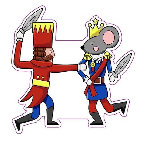 Nutcracker Battle Sticker