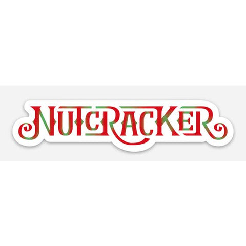 Holiday Nutcracker Vinyl Sticker