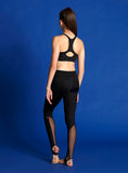 Child Mesh Insert Leggings - BM214P
