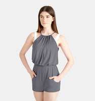 Ladies Pleated Romper - CK1032W