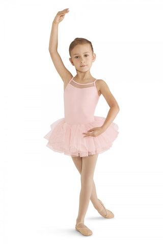 Child Cord Mesh Camisole Tutu Dress - M409C