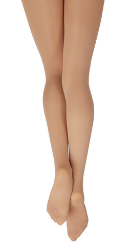 Ladies Plus Size Hold & Stretch Footed Tights - N1862