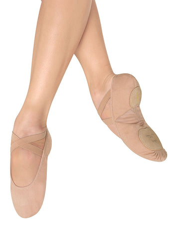 Ladies Pro-Arch Canvas Ballet Shoe - S0271L