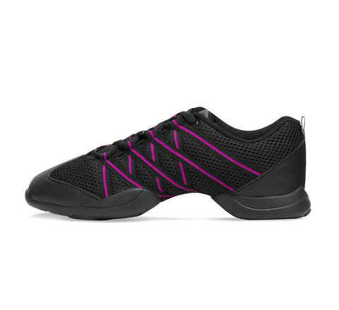 Ladies Criss Cross Dance Sneaker - S0524L