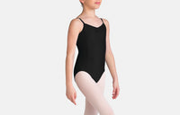 Child Tactel Pinch Front Leotard - TC0052C