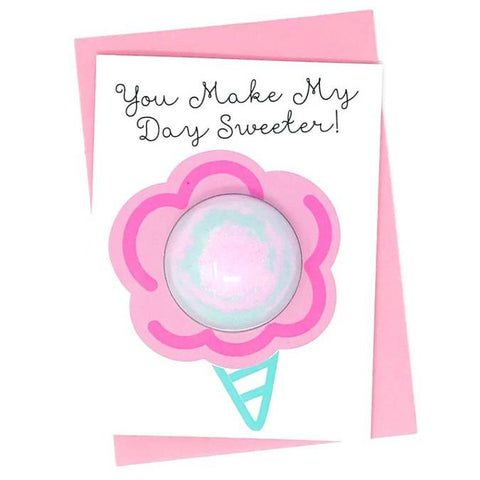 You Make My Day Sweeter Bath Card