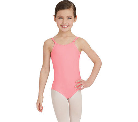 Child Camisole Leotard With Adjustable Strap - TB1420C