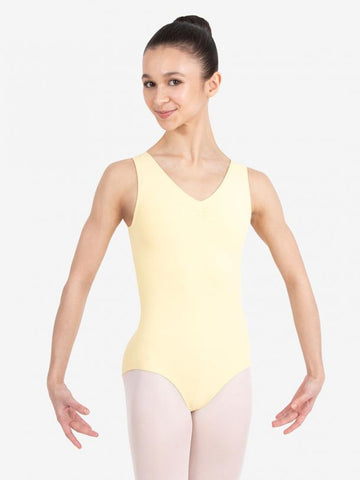 Pinch Front V-Neck Leotard - BH1008